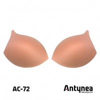 Bra cups AC-72 push-up